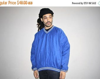 On SALE 45% Off - 1980s Vintage Reebok Pullover Varsity Windbreaker Jacket - 1980s Reebok - 80s Clothing - MV0188