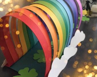 St. Patricks Day! Lucky Rainbow Leprechaun Trap. Family Fun.