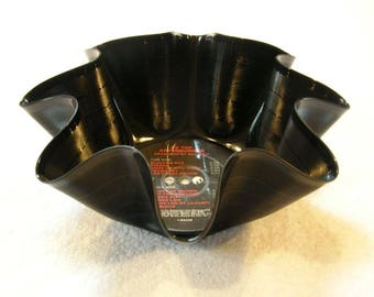 ZZ Top Record Bowl Made From Vinyl Album