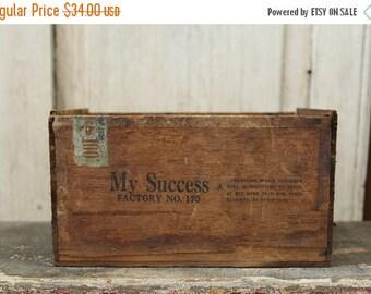 Antique Wood Box | Etsy