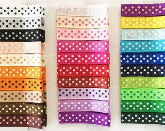 30 Swiss Dot Alligator Hair Clips with No Slip Grip