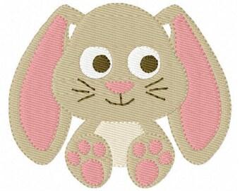 Sweet Bunny Embroidery Design, Rabbit Embroidery Design, Easter Bunny Embroidery Design, Floppy Bunny Embroidery Design // Joyful Stitches