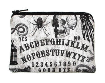 Ouija Board Change Purse Small Zipper Pouch - Ready to Ship