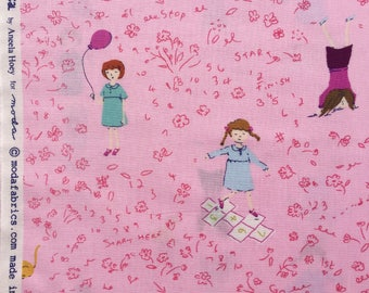 Hello Petal Aneela Hoey Playtime pink moda fabric FQ or more