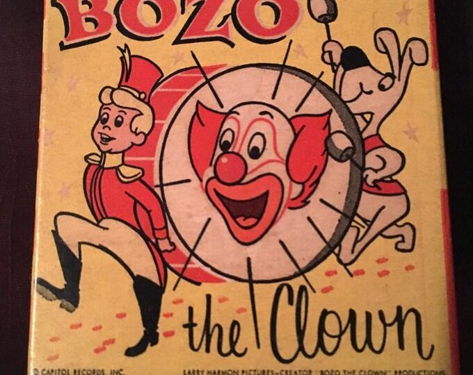 Vintage Bozo the Clown 8mm Film Reel