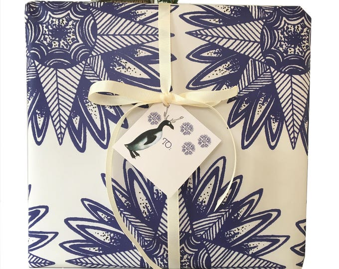Christmas no longer available! Don't miss the Spring Collection coming soon! Bohemian Christmas Gift Wrap Kits