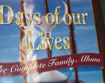 1965 to 1995 Days of Our Lives Soap Opera TV 30th The Complete Family Album LE Anniversary. celebration Illustrated Photo Book hardback  DJ
