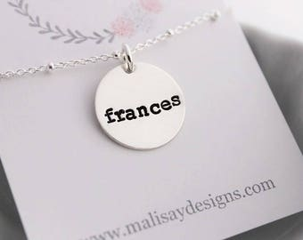"""custom name pendant 