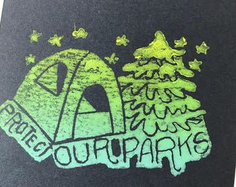 Protect Our Parks Sketchbook