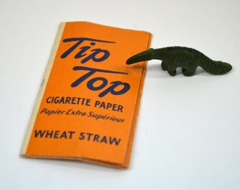 1940s Rolling Papers, Tip Top Wheat Straw, Collectable Cigarette Papers, Vintage RARE Tobacciana