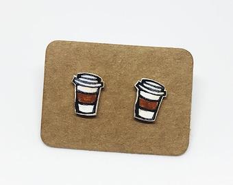 Coffee Cup Studs