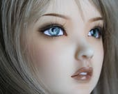BJD eyes Doll eyes Hand made available in 12141618202224mm Panem Grey made to order