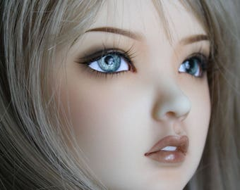 BJD eyes Doll eyes Hand made available in 12/14/16/18/20/22/24mm Panem Grey made to order