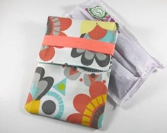 Tampon Case, Tampon Holder, Tampon Wallet - Floral
