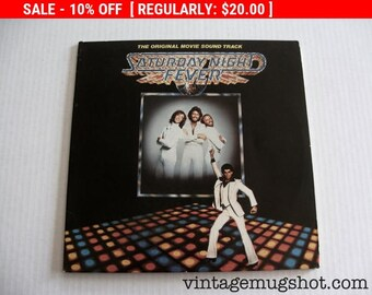August Vinyl Blow Out 10% OFF Already Low Prices Saturday Night Fever Vinyl  Double lp Record  NM- Super Clean Exc Movie Soundtrack 1977