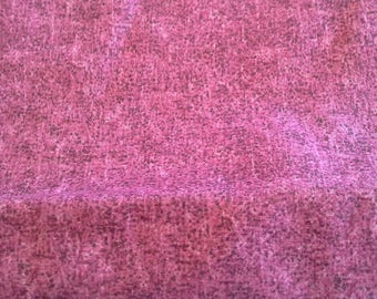 Mottled Dark Pink Cotton Fabric 2 Yards  X0877 Quilting, Clothing, Crafts