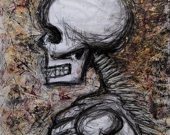 Autumn Skeleton (Print)