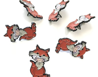 SECONDS SALE! - Fox Pin Enamel pin B Grade quality pins