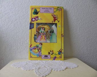 Jumbo Fairy Tales with Three Stories, Cinderella, Sleeping Beauty and The Conceited Stag, 1990s