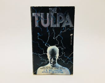 Vintage Horror Book The Tulpa by J. N. Williamson 1981 First Edition Paperback