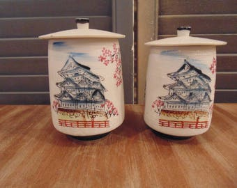 Vintage Japanese Ceremonial Wedding Tea Set