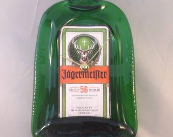 Jagermeister Liquor Bottle Wall Clock