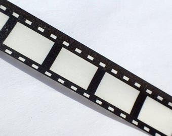 Film Strip Washi Tape - Movie Reel Roll of Film - Paper Tape Great for Scrapbooking Paper Crafts and Decorations - 15mm x 10m