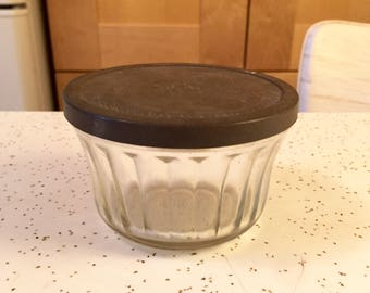 Antique Hazel Atlas Jelly Jar with Lids
