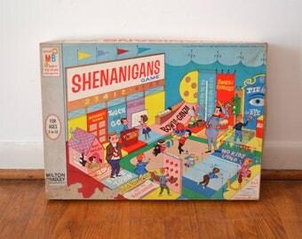 Vintage 1964 Shenanigans Board Game