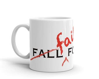 funny office coffee mugs. fall fail forward fun office coffee mug those that will love this funny mugs n