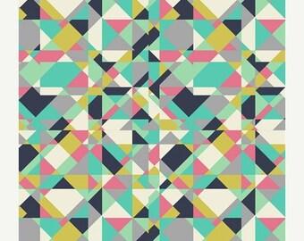 SALE 10% Off - Go-Go London Powdery  (CST-3205) - CARNABY Street  - Art Gallery Fabrics - By the Yard