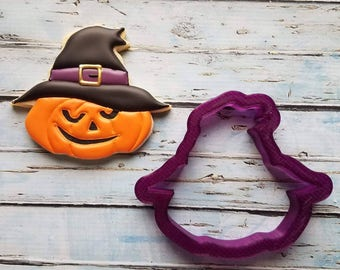 SugarBliss Cookies Scarecrow or Witch Pumpkin Cookie Cutter or Fondant Cutter and Clay Cutter