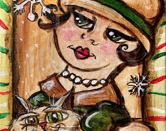 Madame Giclée Art Print