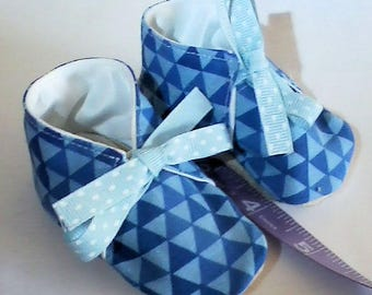 Stylin' Blue Baby Shoes!