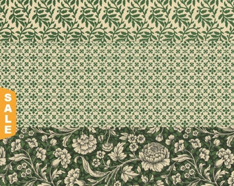 Hot August Paper Sale 12x12 Italian Decorative Papers in Greens for Bookbinding Paper Arts Collage Scrapbooking