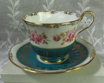 Aynsley Bone China Teacup & Saucer