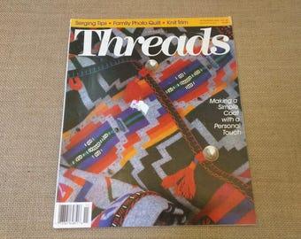 Threads Magazine November 1993 Back Issue Number 49