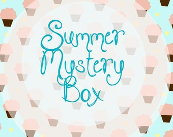 Summer Mystery Box, Jewelry Box, The Lucky Dip,  Sweet Summer Jewelry Surprise Box