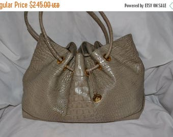 June Savings Vintage Leather Handbag~Brahmin~ Brahmin Bag~ Made in the USA~ Excellent Condition~