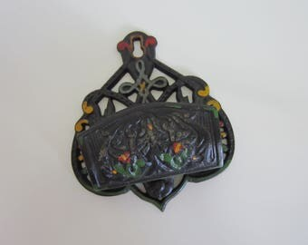 Cast Iron Matchstick Holder by Wilton