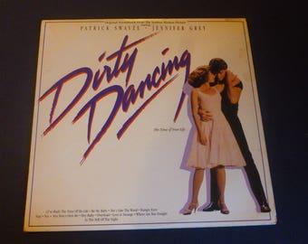 Dirty Dancing Original Soundtrack Vinyl Record LP 6408-1-R Victor RCA Records 1987