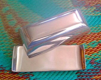 Take 20% Off Vintage Ensenada Bright Mexico Brushed Pewter Butter Dish
