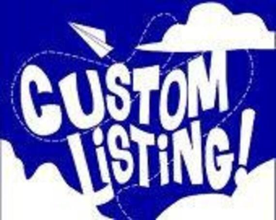 Custom Listing for Henri - Filly & Stud