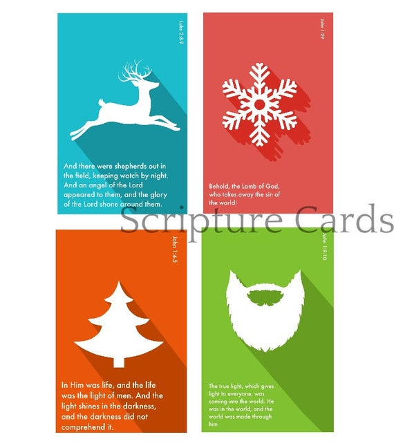 il_570xn - Christmas Scripture For Cards
