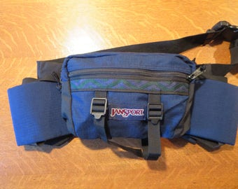 Vintage Jansport USA Fanny Pack Jansport Lumbar Bag Jansport Southwest Waist Pack