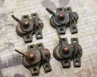 1 Antique Copper Window Lock