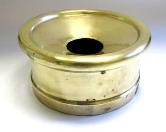 Brass Saloon Spittoon 2 Piece Cuspidor
