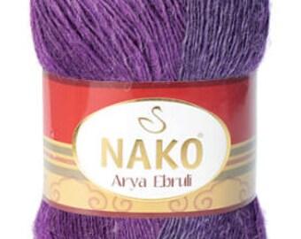 Alpaca yarn, wool yarn, acrylic yarn, crochet, angora, color changing, yarn, knitting,nako yarn, knit 400grams
