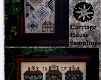 Carriage House Samplings: Quaker House Samplers - Cross Stitch Pattern