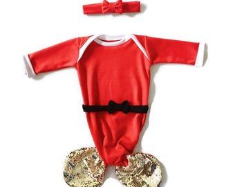 Santa Baby Mermaid Gown